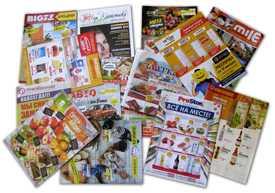 Печать рекламных листовок (газеты), буклетов