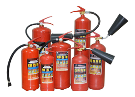 Испытание огнетушителей, порошков огнетушащих, пенообразователей