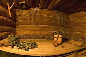 Русская баня в агроусадьбе Виктория