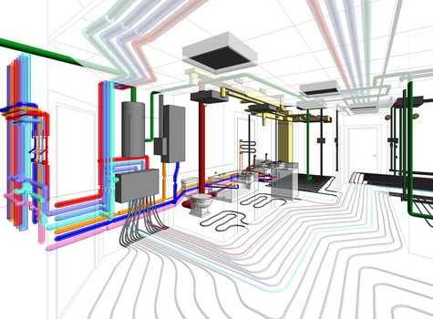 Разработка генпланов инженерных коммуникаций новых строительных объектов