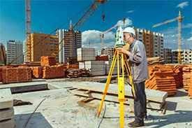 Комплексные инженерно-геодезические изыскания по созданию инженерно-топографических планов на застроенной территории II уровень сложности