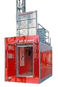 Аренда грузопассажирского лифта SCANCLIMBER SC 2032
