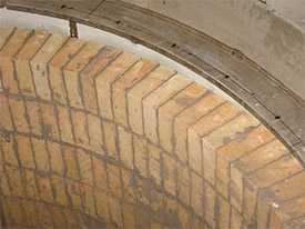 Огнеупорная футеровка цементных печей