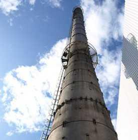 Строительство и ремонт металлических дымовых труб