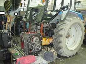 Капитальный ремонт тракторов МТЗ