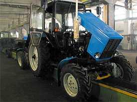 Текущий ремонт тракторов МТЗ