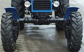 Ремонт передних мостов тракторов МТЗ 82