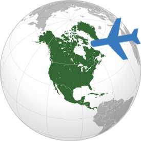 Авиаперевозка грузов Беларусь-Северная Америка