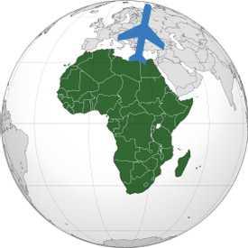 Авиаперевозка грузов Африка-Беларусь