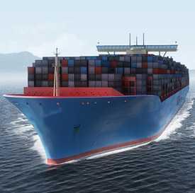 Морские грузоперевозки в контейнерах - частичная загрузка (LCL)