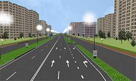 Услуги по проектированию дорожной разметки