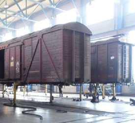 Деповской ремонт грузовых вагонов