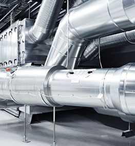 Монтаж внутренних инженерных систем зданий промышленного предназначения