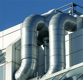 Монтаж наружных инженерных систем зданий промышленного предназначения