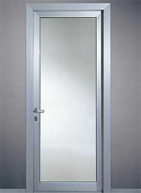 Монтаж алюминиевых дверей