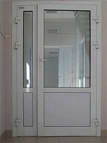 Изготовление дымонепроницаемых алюминиевых дверей под заказ