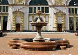 Изготовление фонтанов из мрамора