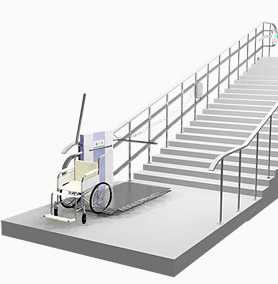 Замена и монтаж подъемников для инвалидов