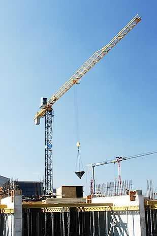 Аренда башенного крана BCT-140 8 тонн