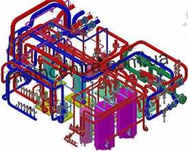 Разработка проектов на строительство тепловых сетей