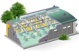 Реконструкция производственных зданий и сооружений
