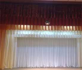 Изготовление и пошив антрактно-опускных занавесов (для сцены)
