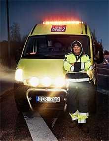 Служба экстренной помощи (VAS) Volvo Action Service