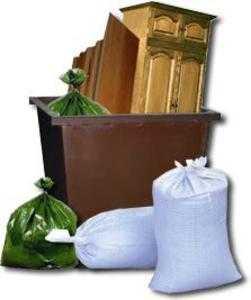 Уборка бытового мусора