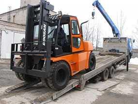 Перевозка спецтехники до 10 тонн