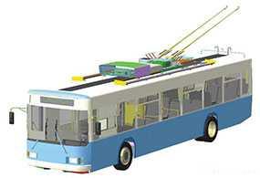 Разработка и внедрение телемеханизированной системы управления городским электротранспортом