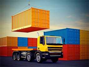 Автомобильные контейнерные перевозки груза