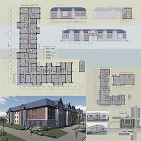 Проект реконструкции жилых зданий