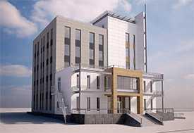 Проект реконструкции общественных зданий