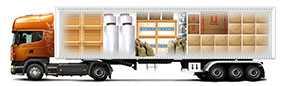 Автомобильная перевозка сборных грузов