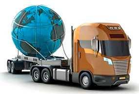 Доставка грузов от двери до двери автомобильным транспортом
