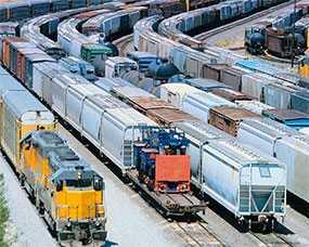 Перевозка грузов для выставок железнодорожным транспортом