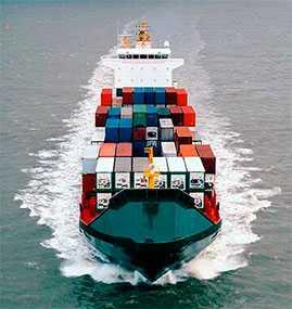 Перевозка грузов для выставок морским транспортом
