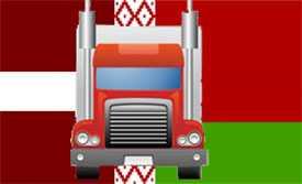 Комплектные грузоперевозки Латвия-Беларусь