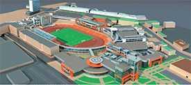 Проект реконструкции спортивных сооружений