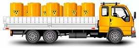 Доставка опасных (ADR) грузов автомобильным транспортом