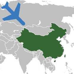 Авиаперевозка грузов Беларусь-Китай
