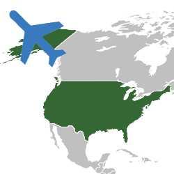 Авиаперевозка грузов США-Беларусь