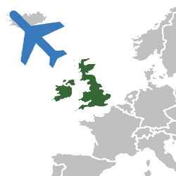Авиаперевозка грузов Англия-Беларусь