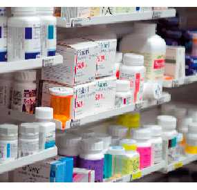 Реализация с аптечного склада лекарственных средств отечественного производства
