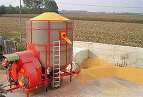 Услуги зерносушильных установок