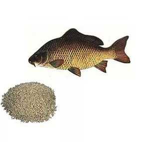 Изготовление комбикорма для прудовых рыб из сырья заказчика (под заказ)