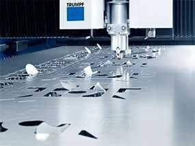 Лазерная резка алюминиевого листового металла толщиной до 10 мм