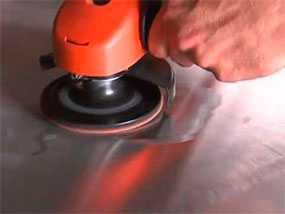 Зачистка и шлифовка листового металла