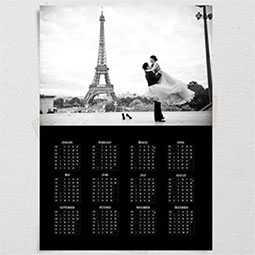 Печать календарей-плакатов, изготовление календарей-плакатов