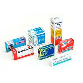 Изготовление картонной упаковки для медицинской промышленности